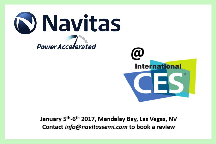 Navitas GaN Power ICs at CES 2017