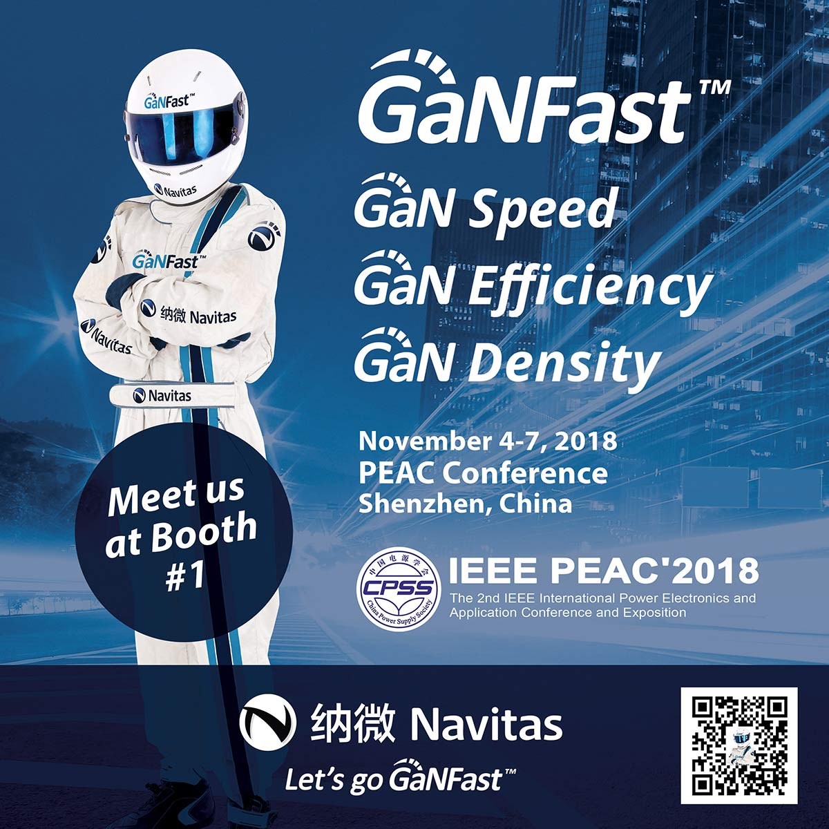 Navitas Announces GaNFast™ Advances at Premier Chinese Power Electronics Conference