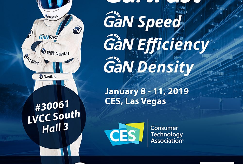 Navitas at CES 2019: Charging the World GaNFast