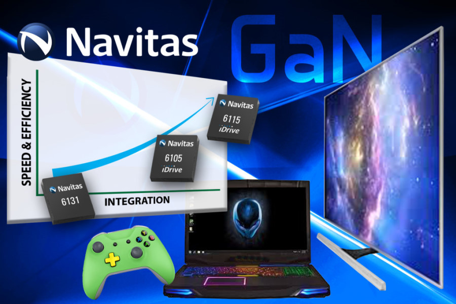 Navitas Semiconductor Delivers the World's First GaN Power ICs