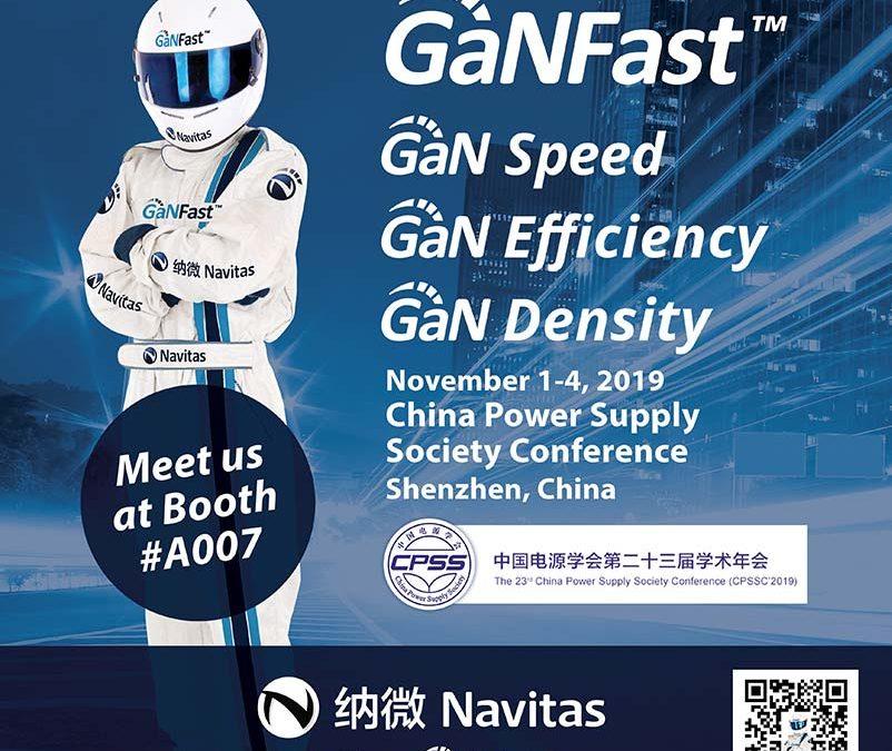 Navitas Demonstrates GaN Leadership at Premier Asian Electronics Conference