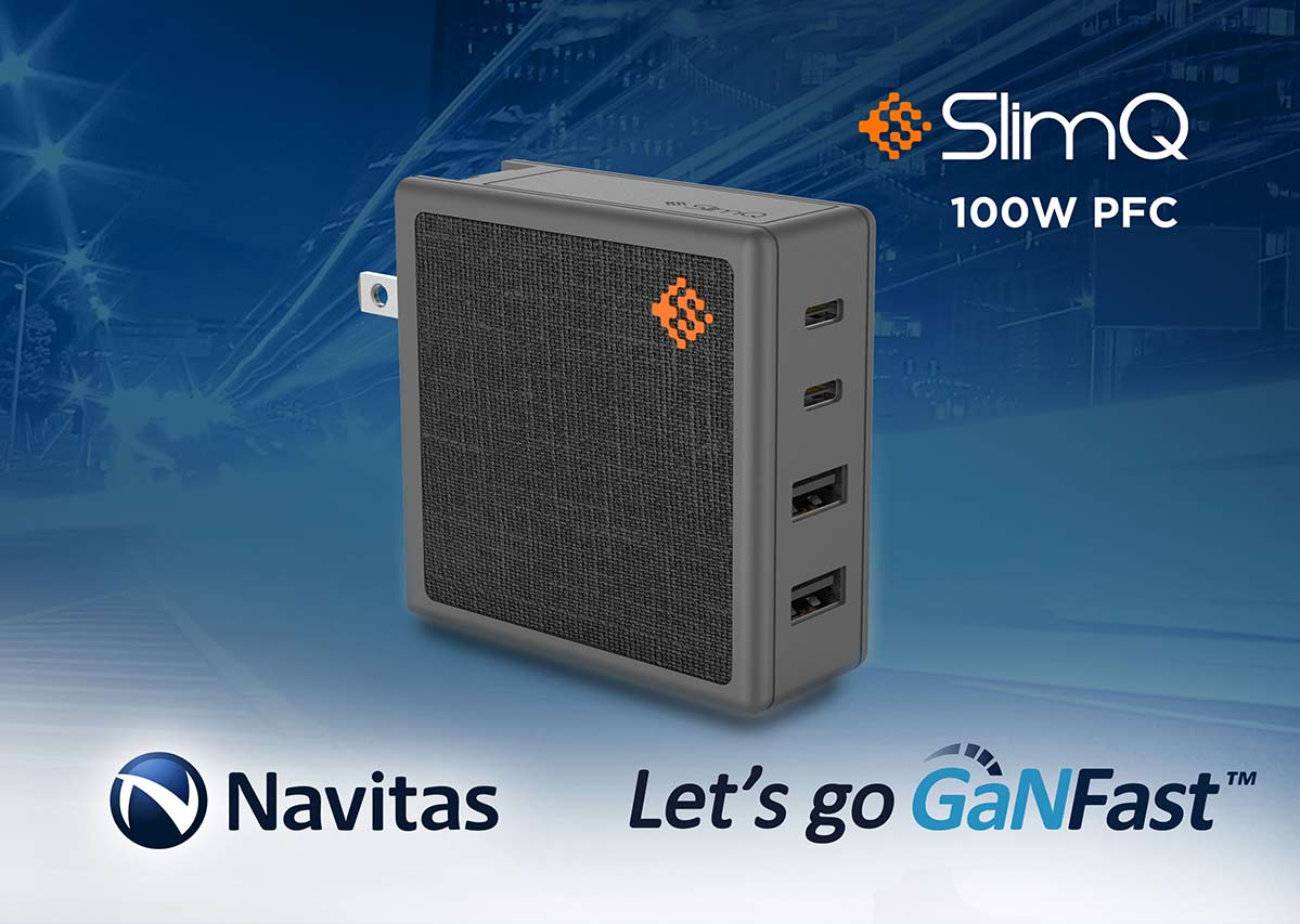 Homing Systems Launches World's Smallest 100W 4-output Fast Charger with GaNFast Technology