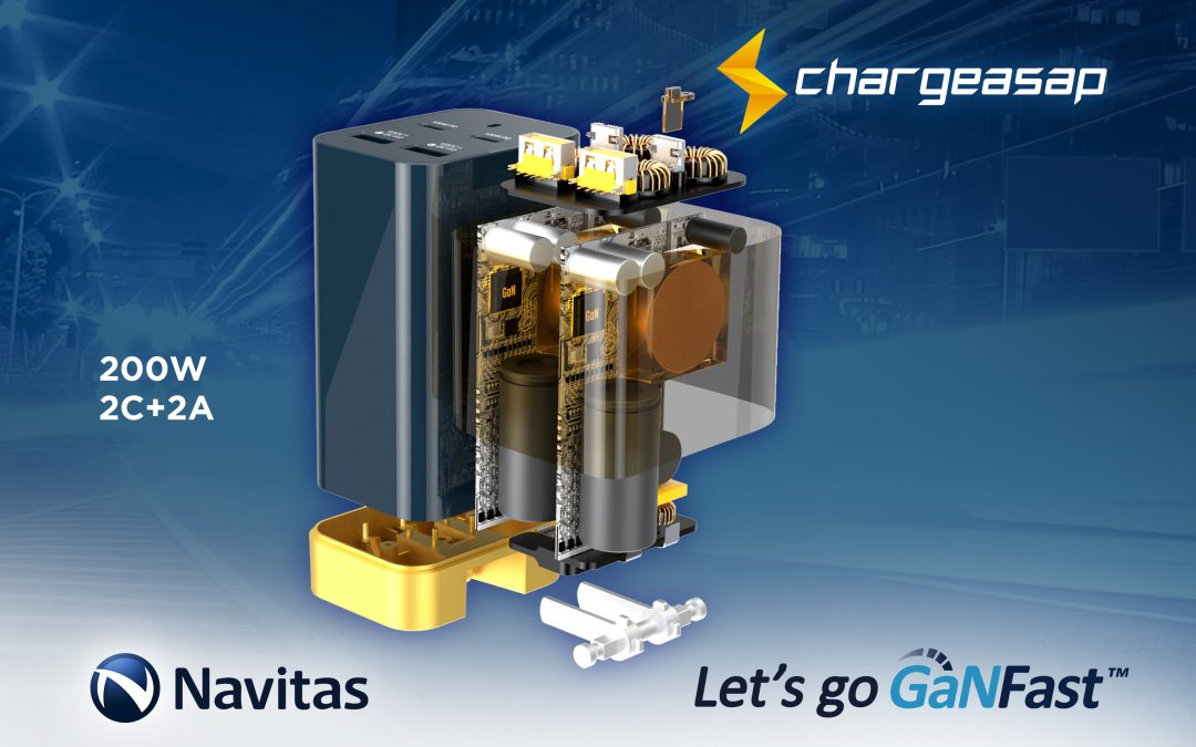 Chargeasap Omega: World's Most Powerful Multi-port GaN Fast Charger.
