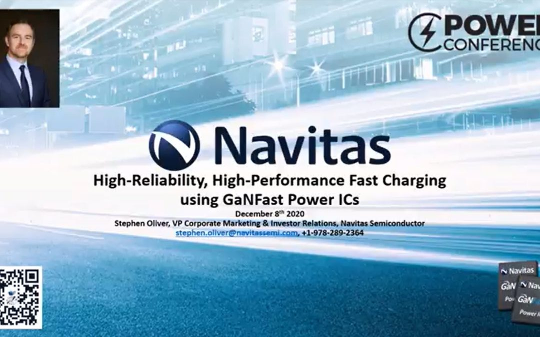 High-Reliability, High-Performance Fast Charging using GaNFast Power ICs