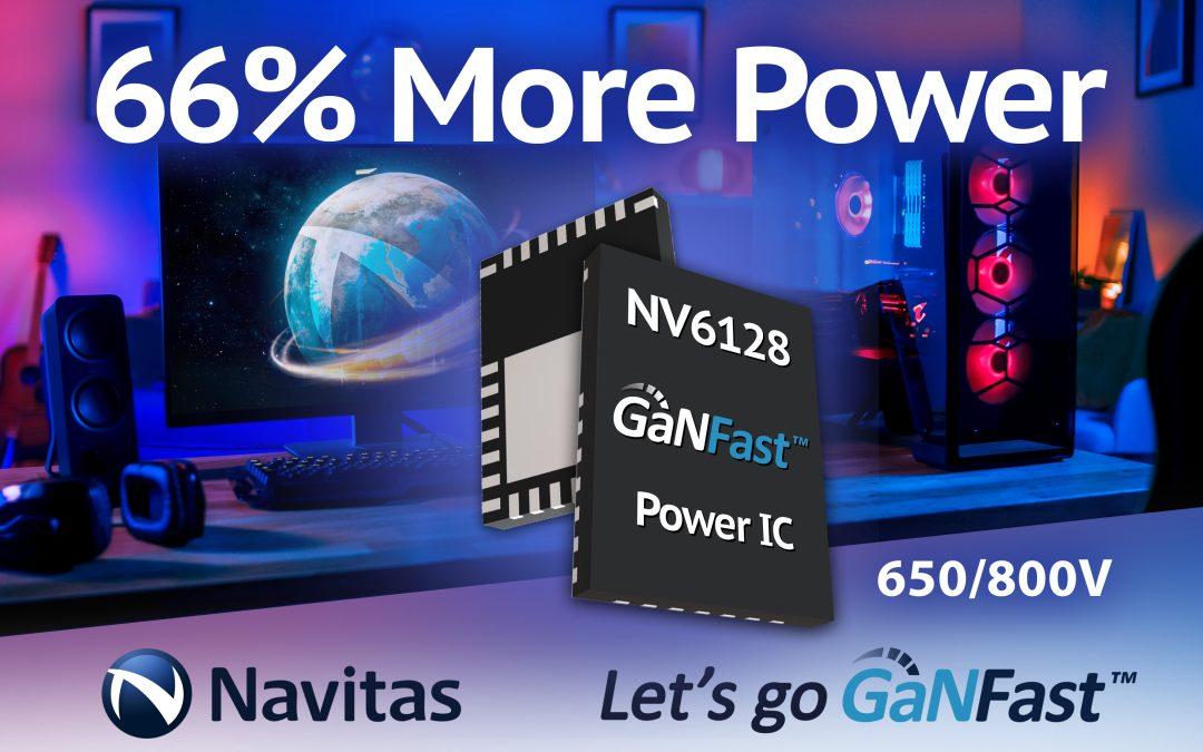 Navitas Cranks Up the Power with Gallium Nitride.