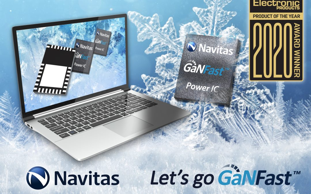 """Navitas Semiconductor Wins Prestige """"Power Product of the Year"""" Award"""