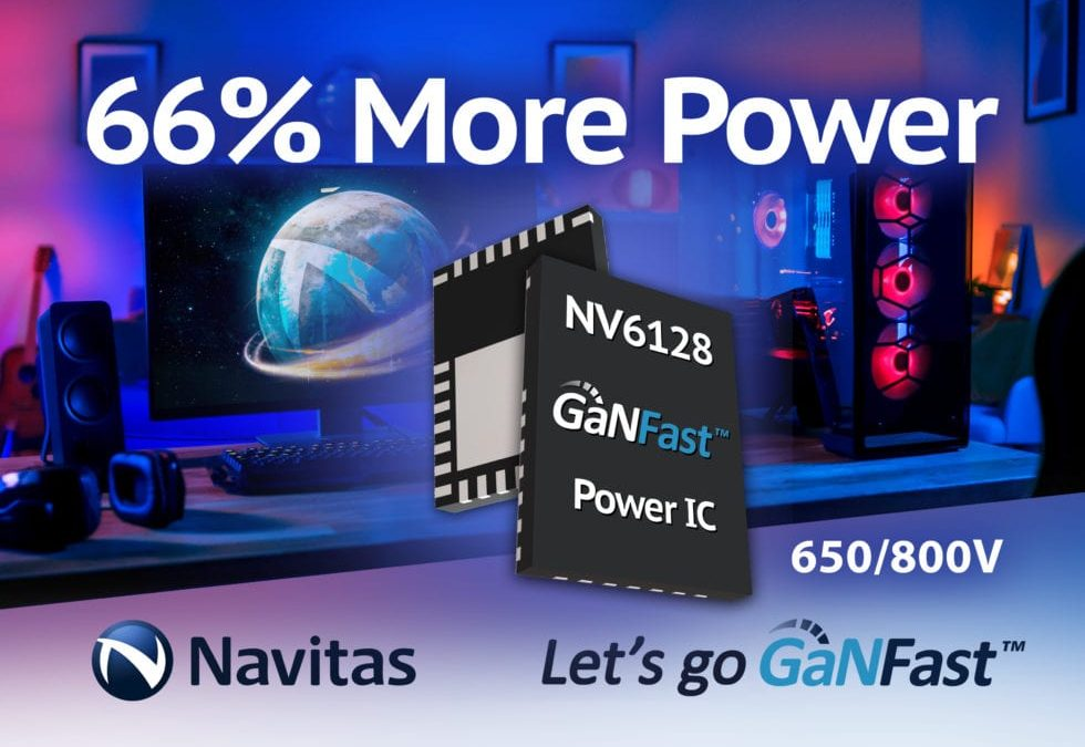 EE News – 650V GaN chip has 800V peak operation for 500W chargers