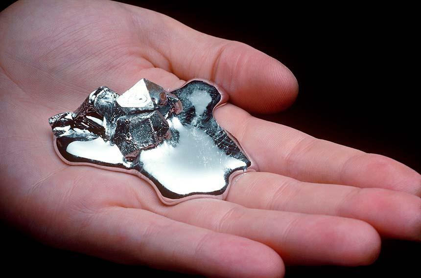 Gallium Nitride Hand