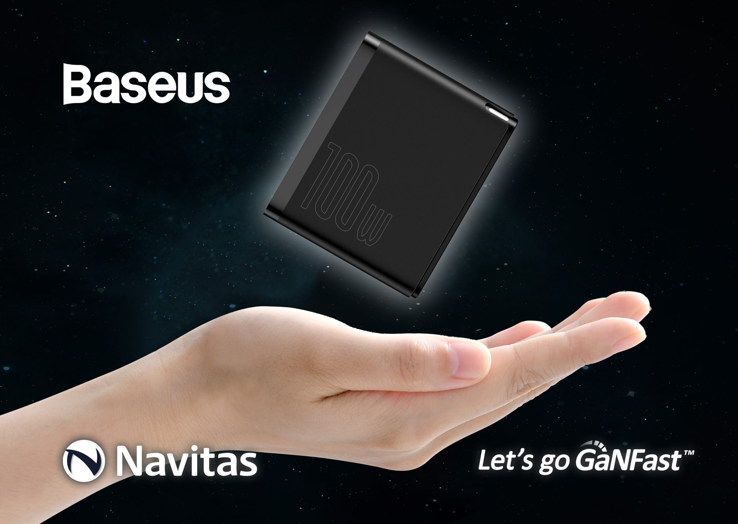 Navitas Powers Baseus 100W to Fast-Charge Smartphones from 0 to 50% in just five minutes