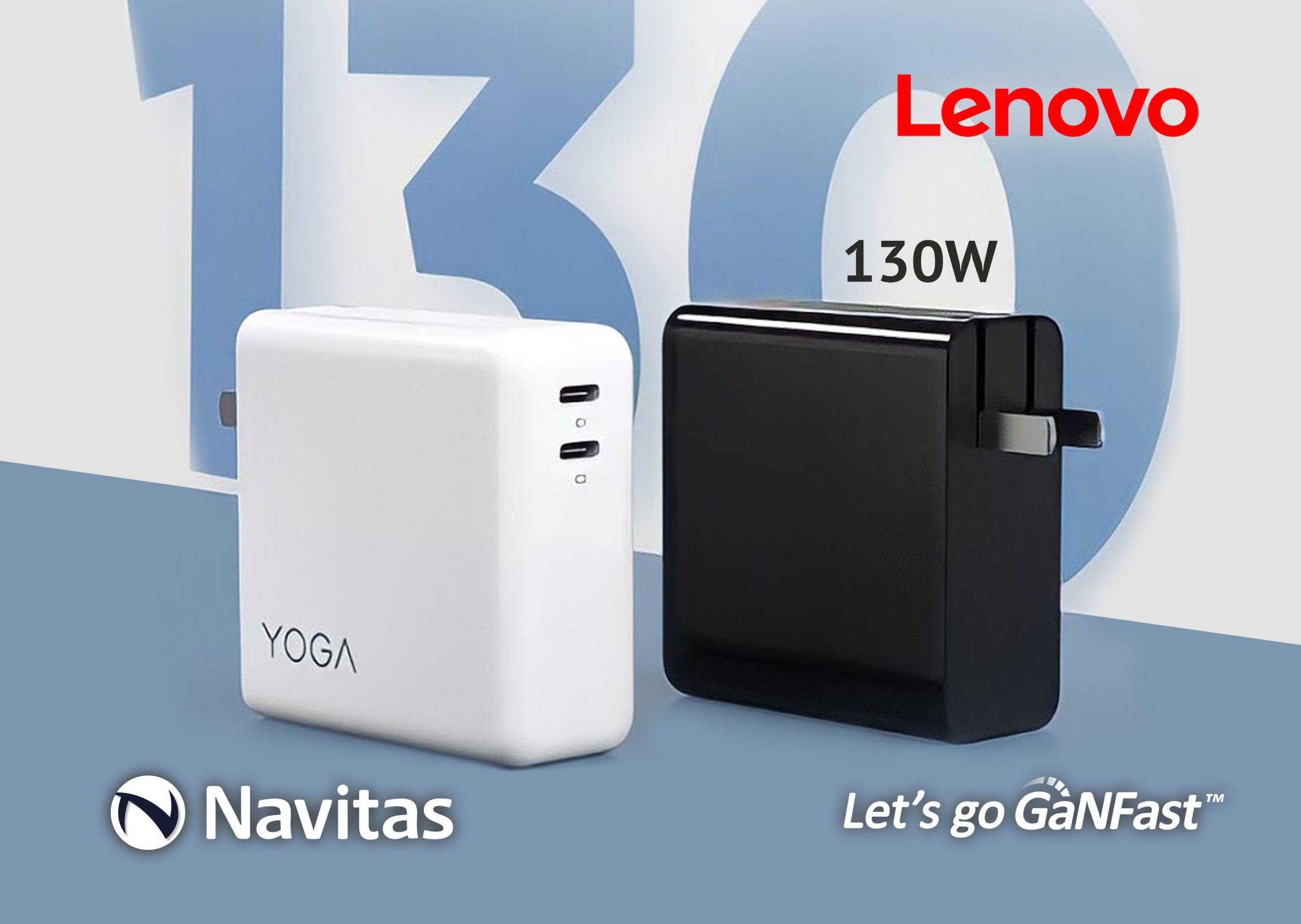 Navitas and Lenovo Partner for the 5th Time with GaNFast™ Charging