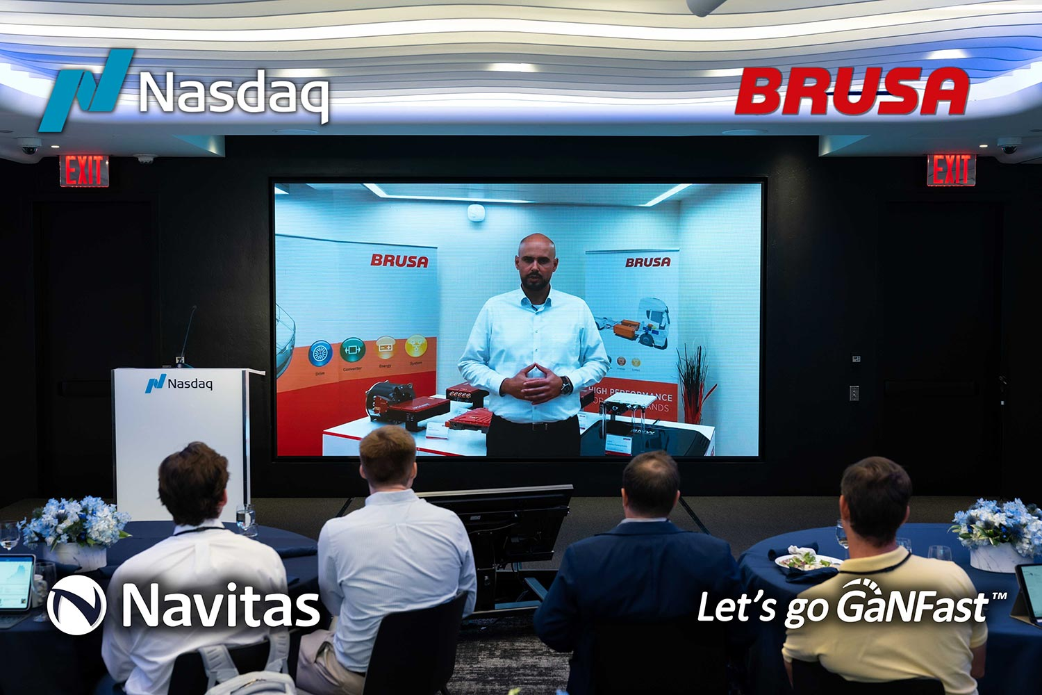 BRUSA goes GaNFast™ to Reduce the CO2 Footprint in their Electromobility Charger Products
