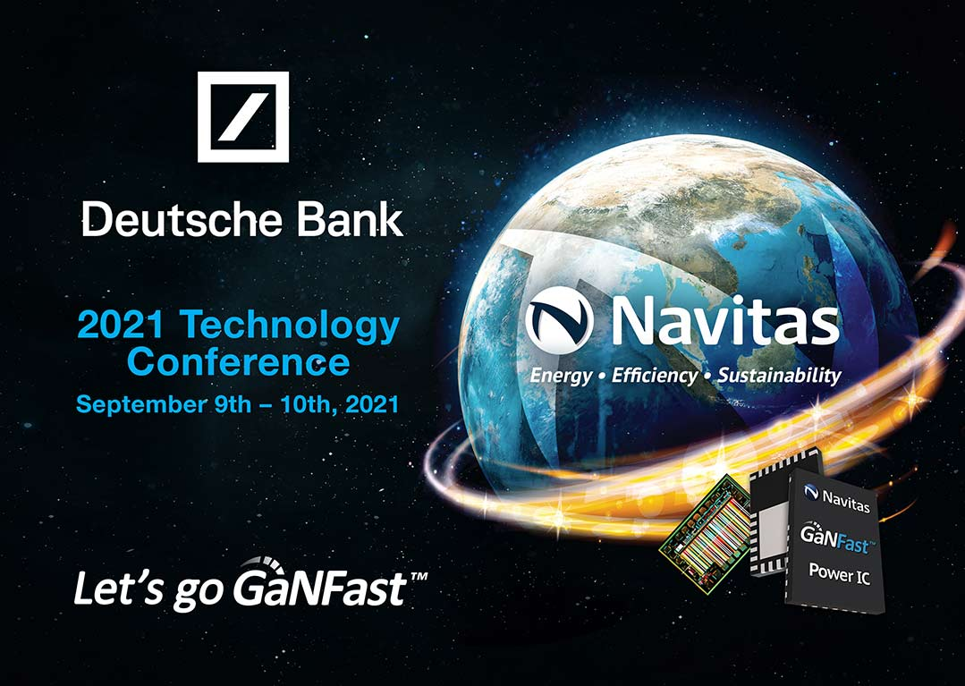 Navitas Next-Gen Semiconductor Growth Highlighted at Deutsche Bank Technology Conference