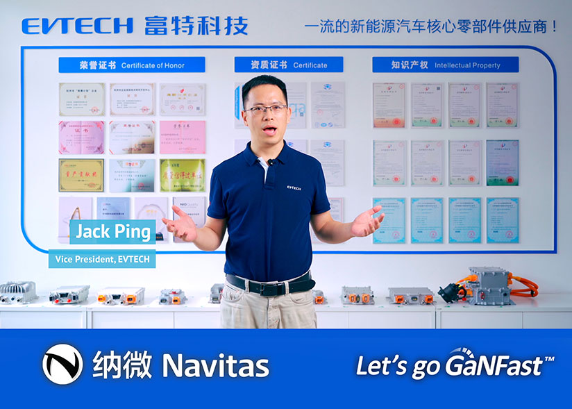 EVTECH Positive on Next-Gen GaN Semiconductor for EV to Improve Performance, Efficiency and Reliability of their Automotive On-Board Chargers
