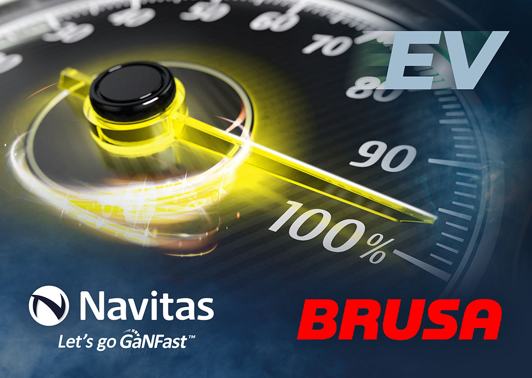 Navitas and BRUSA Announce Development Partnership to Accelerate EV Adoption