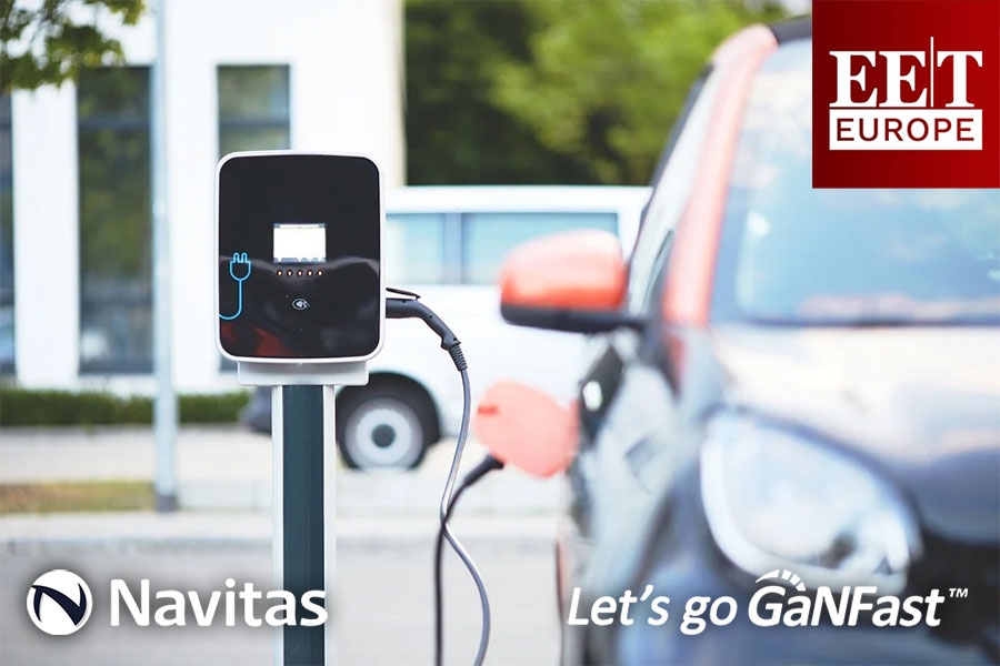 EE Times: Eggtronic Enables GaN-Based Charging for Electric Vehicles