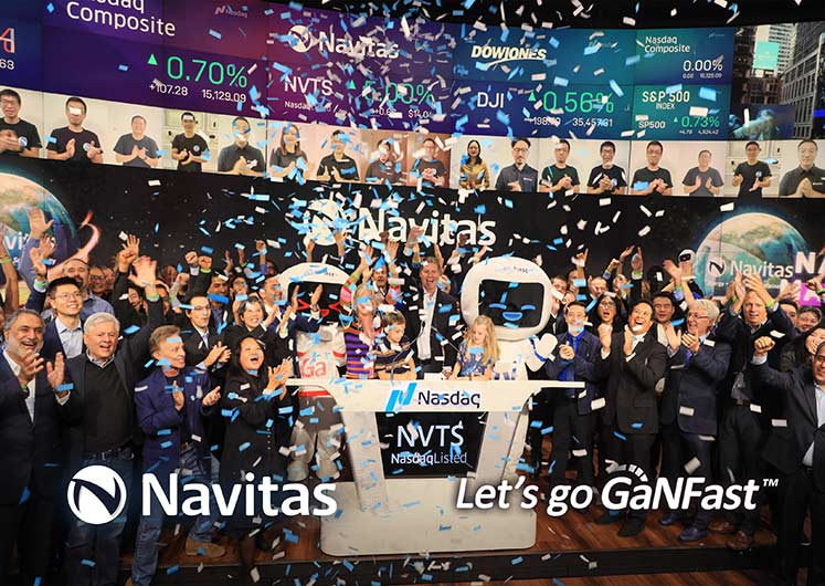 Navitas Semiconductor Debuts Trading on Nasdaq