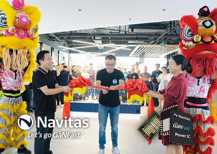 Navitas Shenzhen Expands 300% to Support Extraordinary China Revenue Growth and Accelerate High-Power GaN Applications